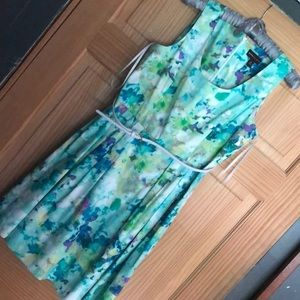 Dana Buchman Floral Dress size 12